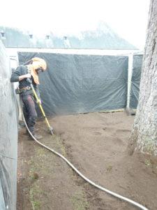 Utilisation de l'air spade®.